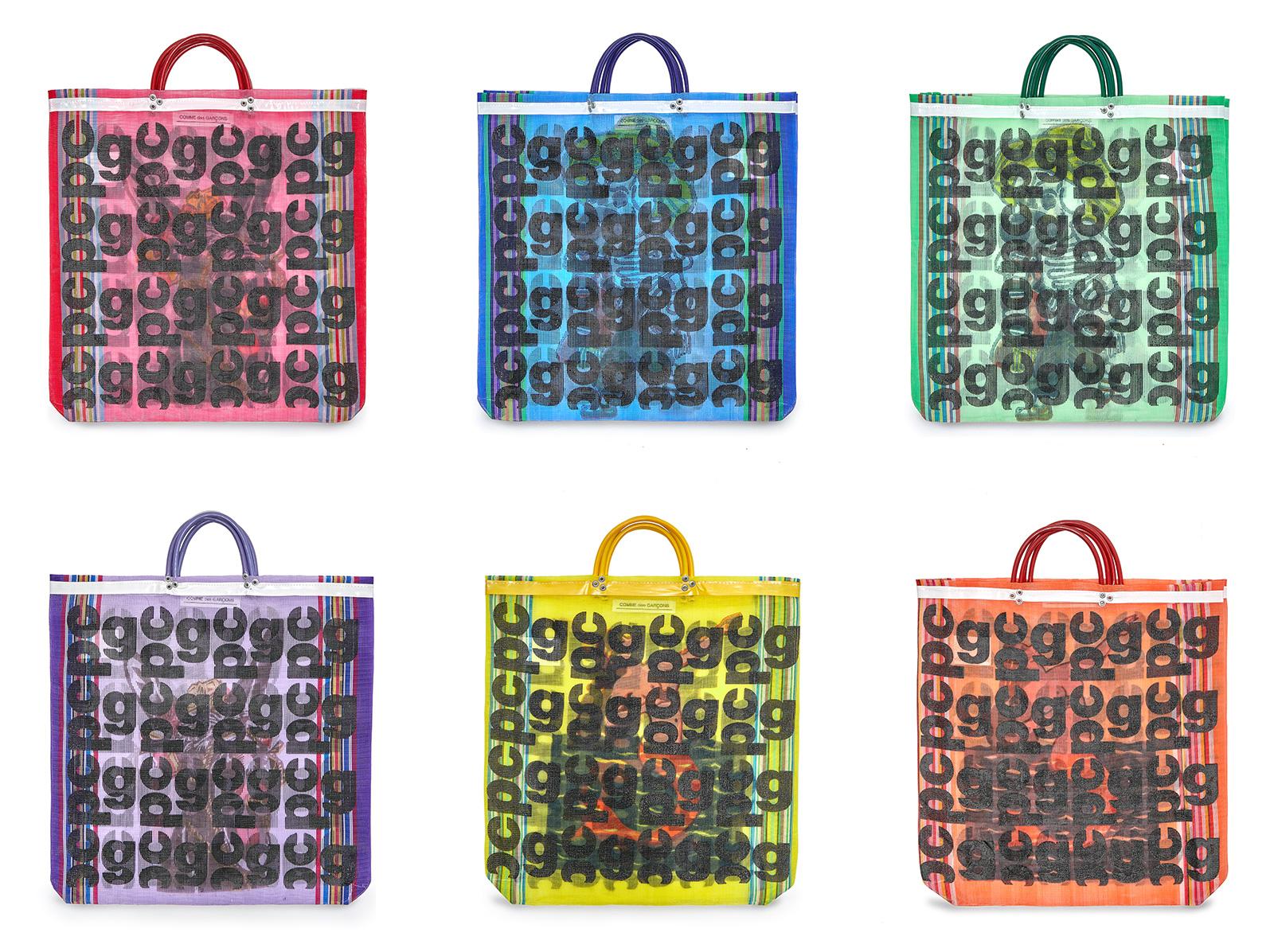 CDG Monogram Market Bags