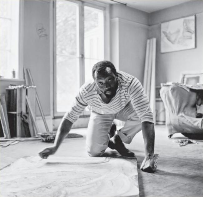 Frank Bowling. Photo: Tony Evans + Timelapse + Getty Images.JPG